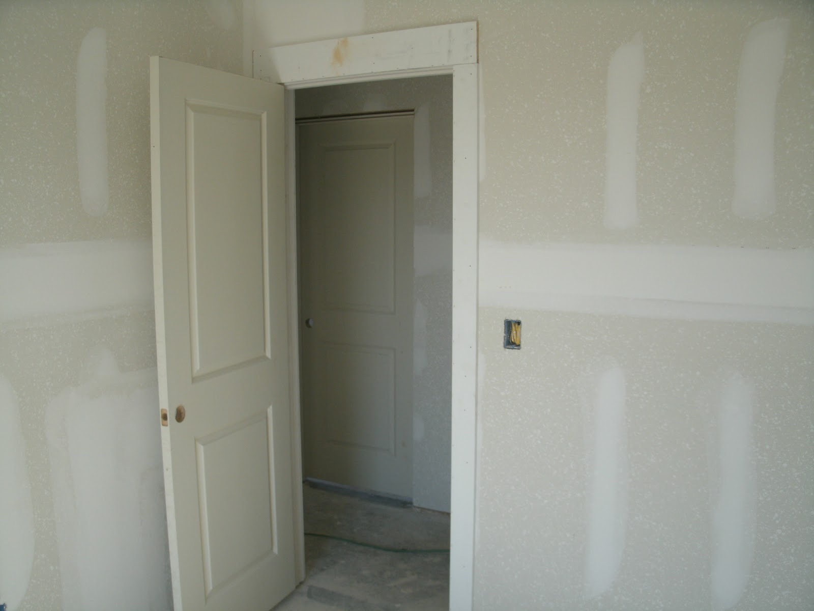 Comhome Interior Trim : example of both the trim and interior doors. I wanted simple wide trim ...