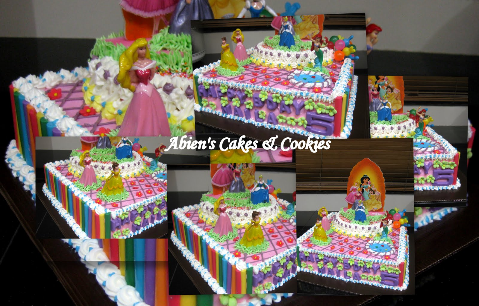 Kue ulang tahun anak : Princess Naila