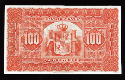 World Paper Money Puerto Rico Banknotes Currency Pesos
