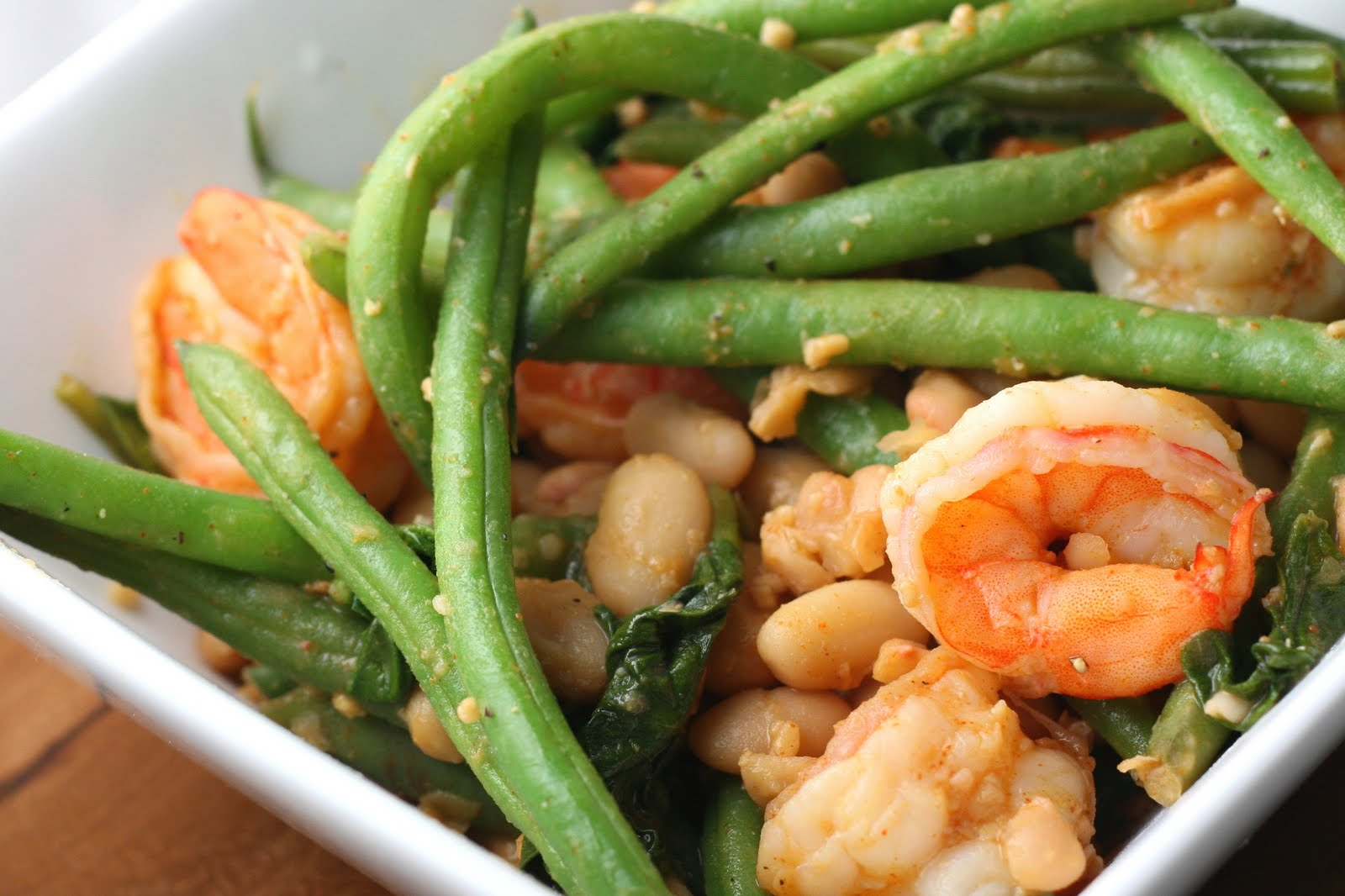 Shrimp and Bean Saute - Coastal Cooking