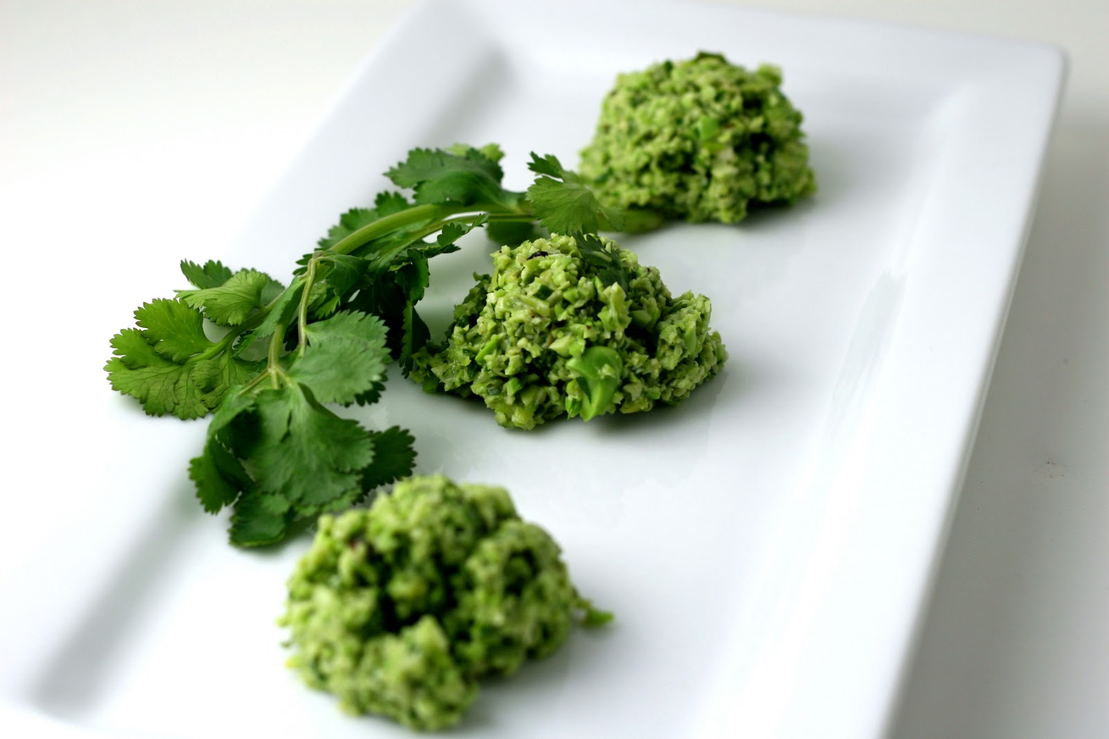 ... with Edamame-Cilantro Pesto - Florida Coastal Cooking & Wellness
