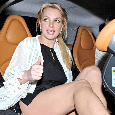 fotos de britney spears ensenando calzones: