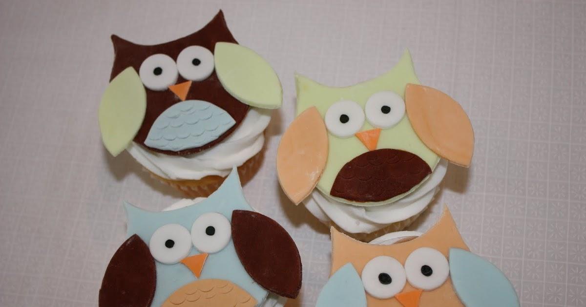 Cake Art Kirkland Wa : Whimsical by Design: Owl Cupcake Toppers