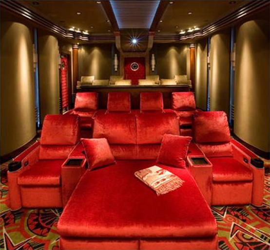 HOME DESIGN: 15 Cool Home Theater Design Ideas best design home ...