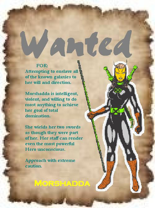 WANTED: Morshadda
