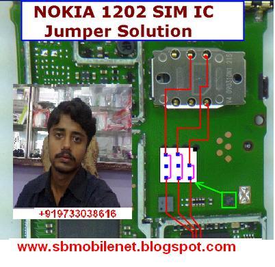 NOKIA 1202 INSERT SIM