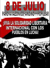 8 de julio: Protesta Nacional