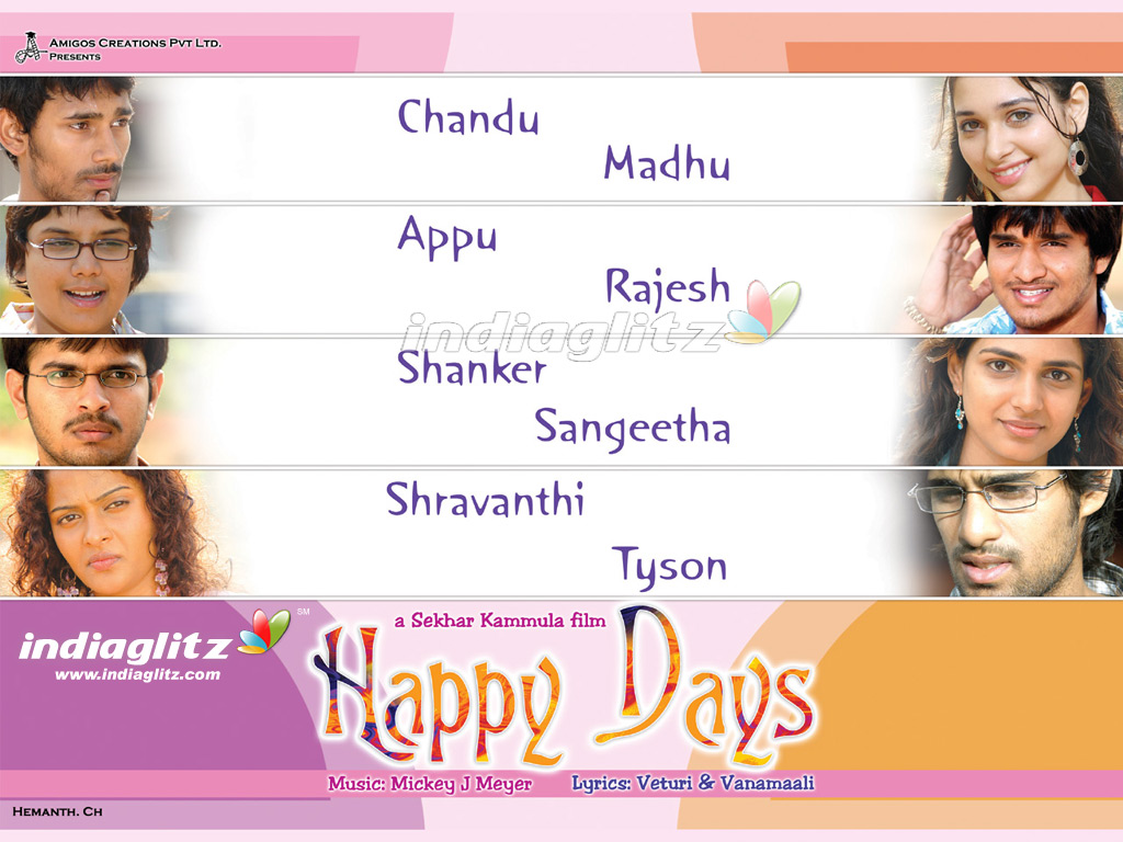 Happy days online telugu movie dvdrip