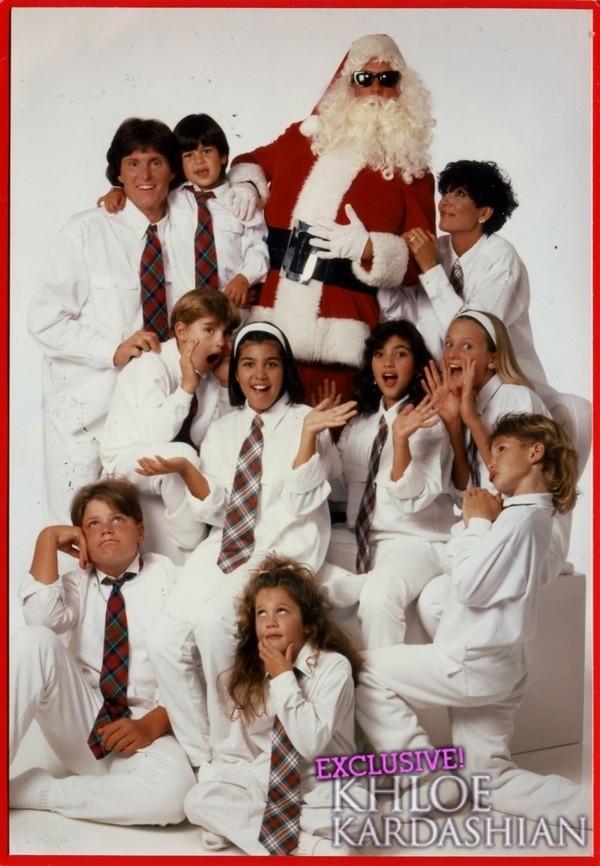 kardashian christmas card. kardashian christmas card.
