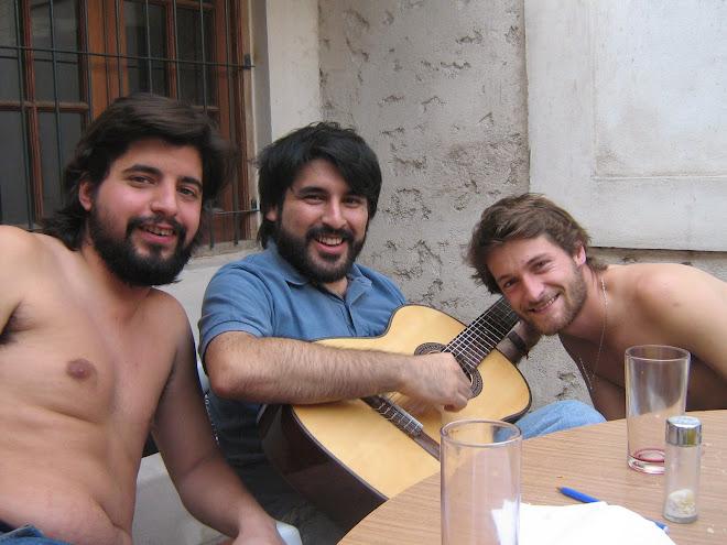 Agu, Álvaro y Ale (again)