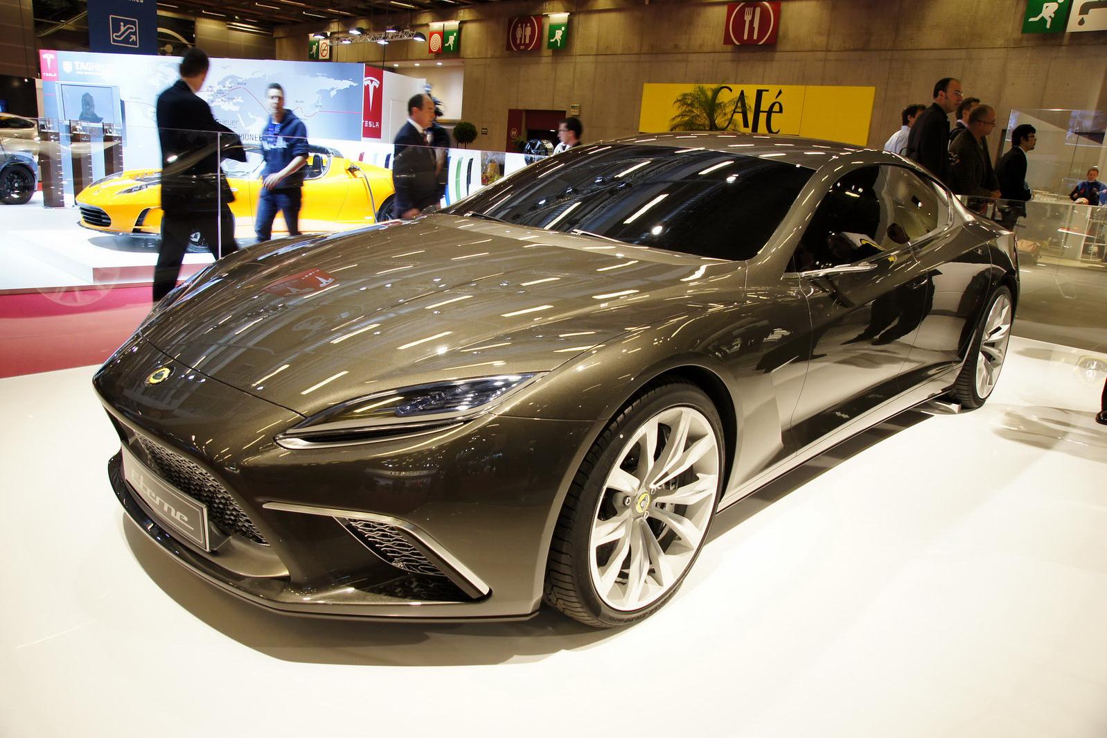 paris auto show 2015 lotus eterne a four door sports coupe
