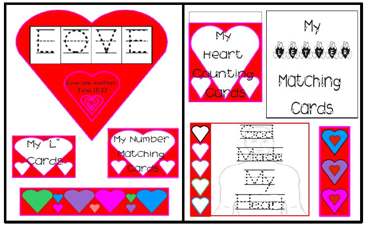 Primary Love Lapbook