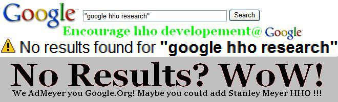 No results found for google hho research