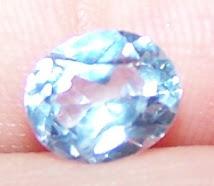 Aquamarine Asli-Sangat sesuai untuk buat rantai tangan atau cincin yang saiz permatanya kecil