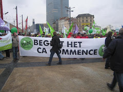 The day of action Against Climate Change Brussels
