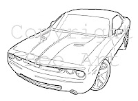 How To Draw Dodge Challengeron 2015 Dodge Srt Charger Hellcat