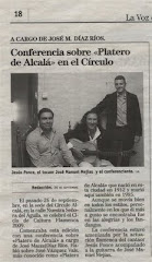 La prensa local se hace eco del esfuerzo que se realiza en el Círculo por promocionar el flamenco