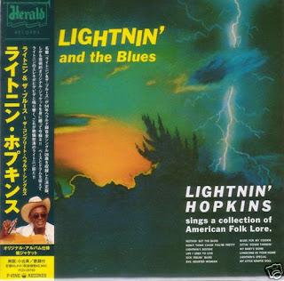 Lightnin Hopkins Lightnin The Blues Of Lightnin Hopkins