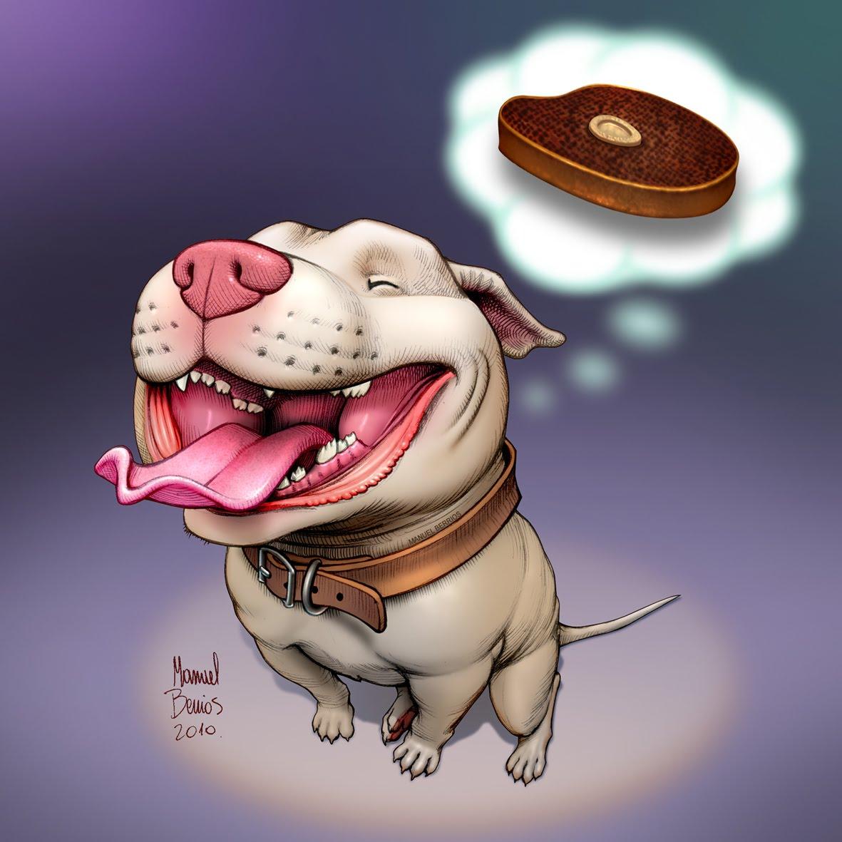 Caricaturas de Pitbull - Imagui
