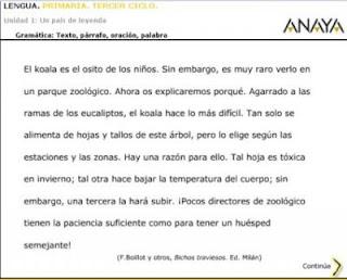 Texto, párrafo, oración y palabra-EL CLARIÓN DIGITAL
