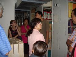 Visite des archives mars 2009