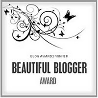 My Beautiful Blogger Award from Myra...Thank you X