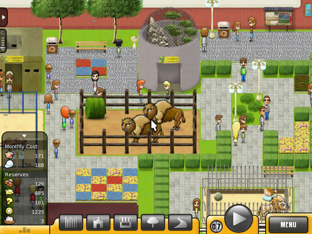 Play Zoo Building Games Online