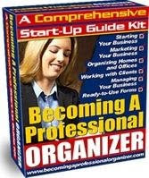 book on becoming professional organizer