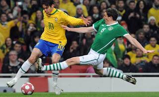 Il Brasile domina l'Irlanda