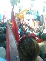 """""""Revolução se faz não pelo voto mas com povo na rua""""Che Guevara."""