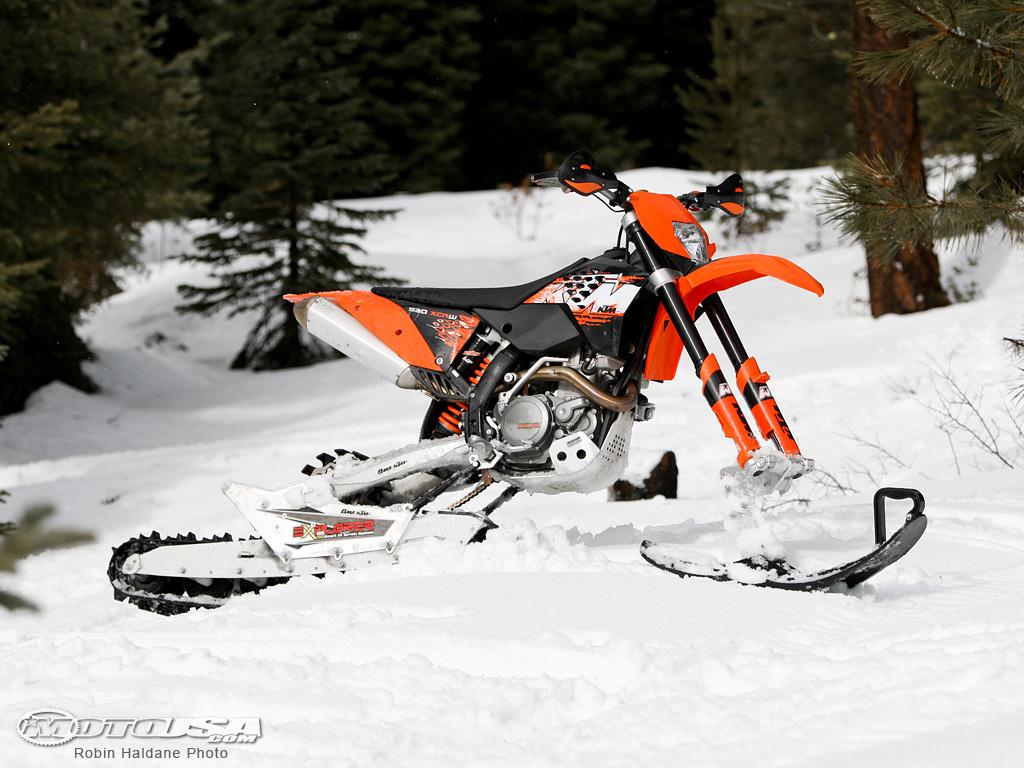 Ktm Snowbike