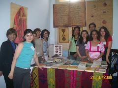 FERIA ANUAL DE LA FILOSOFIA 2008. STAND DE BIBLIOTECA SANTIAGO EL MAYOR