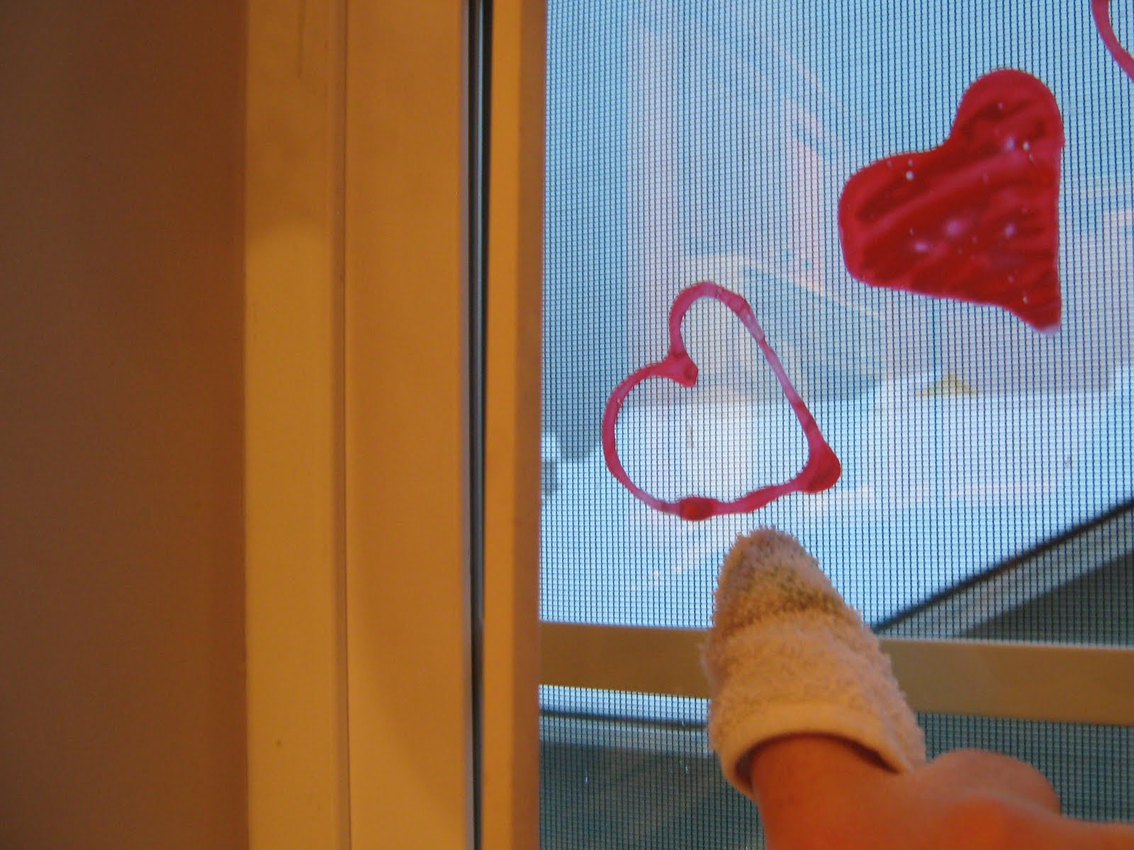 Almost Unschoolers Valentine S Glue Window Clings And