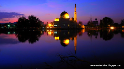 Panorama Keindahan Masjid As-Salam Puchong Perdana