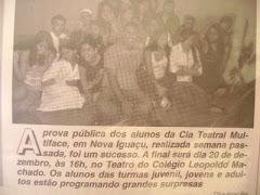PROVA DE INTERPRETAÇÃO SERÁ DIA 20 DE DEZEMBRO DE 2008