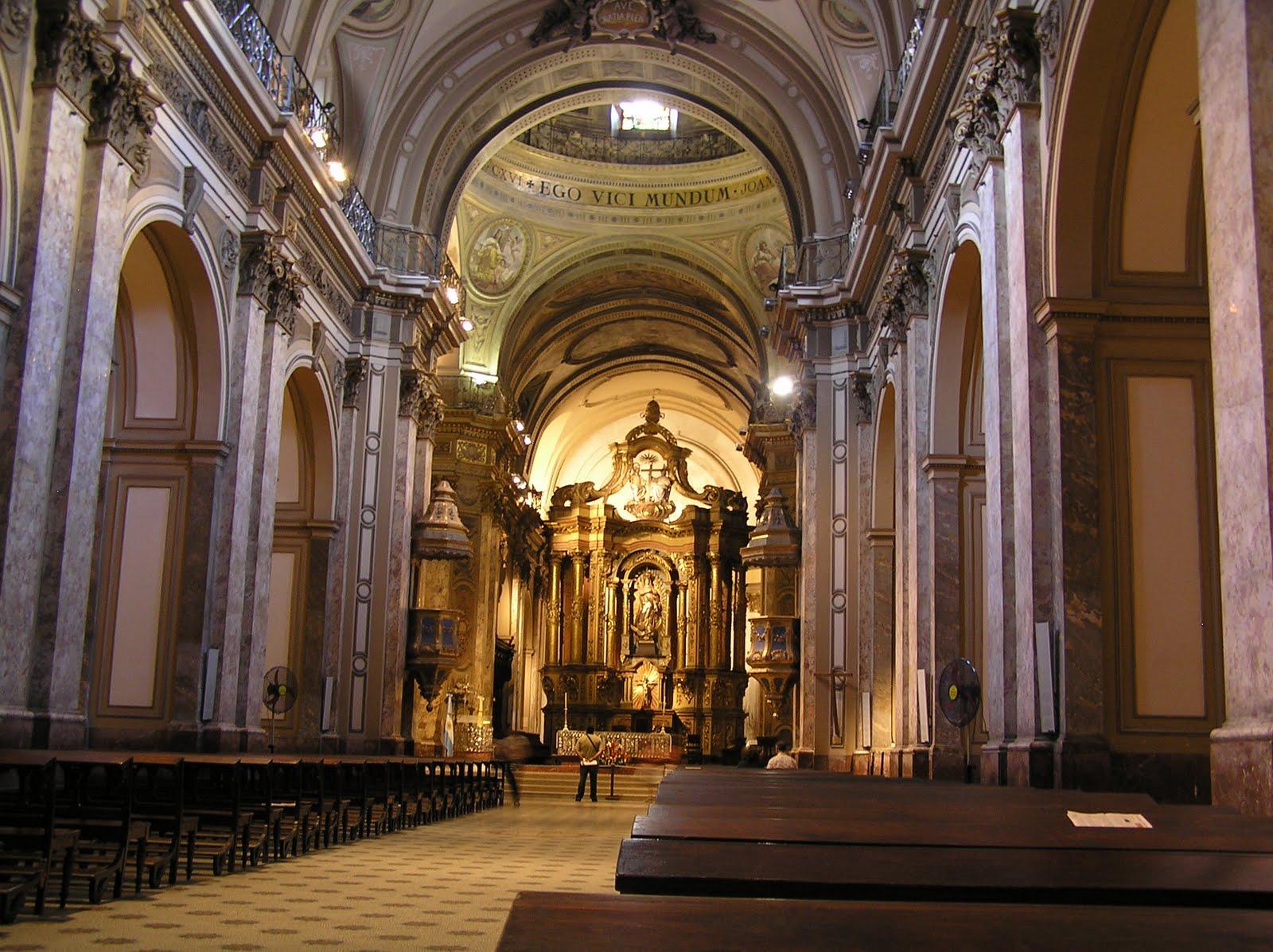 Catedral metropolitana de buenos aires for Catedral de zamora interior