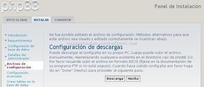 Crear un foro PHPBB3 Gratis 0810