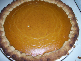 Authentic Foods Pumpkin Pie Crust