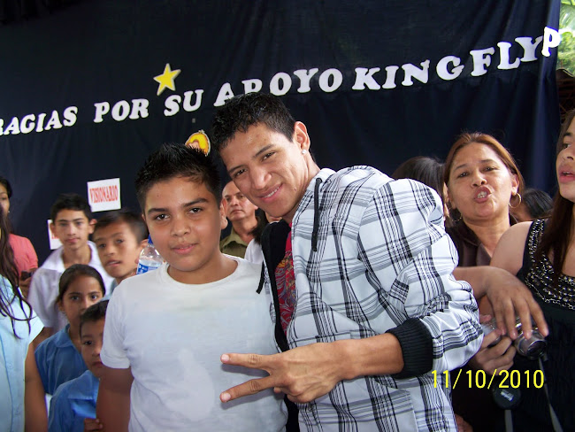 The King Flyp y Alfredo Antonio del 7°