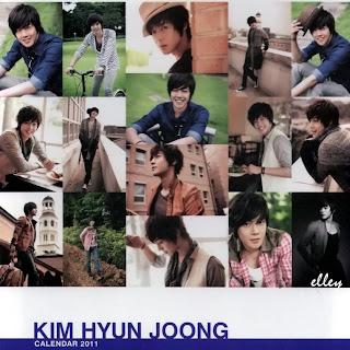 ss501 Kim Hyun Joong Calendar 2011