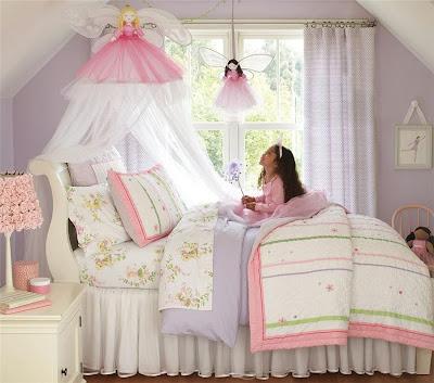 Cuartos decorados para niñas