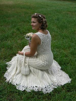 Tejidos A Crochet Para Vestido De Novia