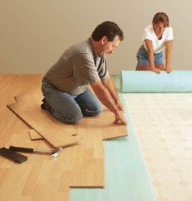 Como colocar un piso laminado en tu casa - Como amueblar un piso ...