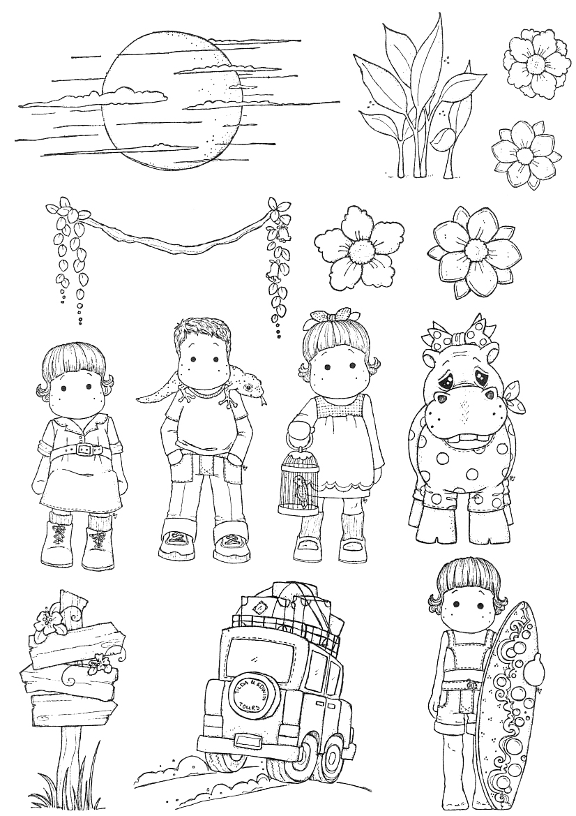 dibujos infantiles para imprimir