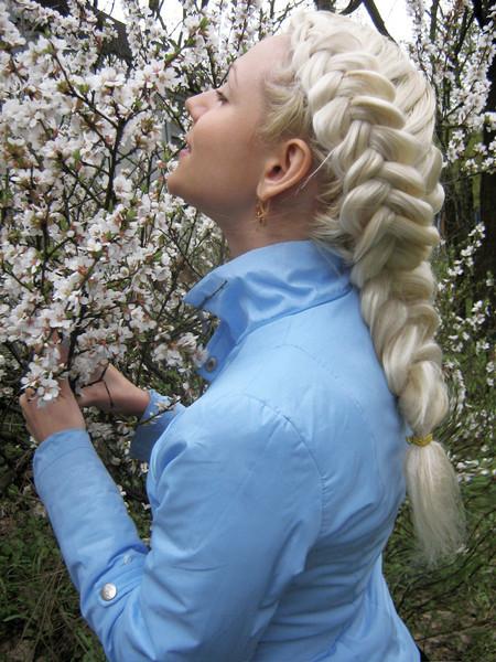 Картинки косы на длинные волосы поэтапно - b2