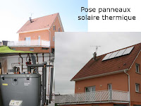 Installation Solaire Thermique.