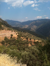 The Cliffs at Delphi, Greece