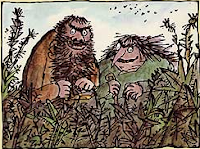The Twits, from the popular Roald Dahl childrens novel!