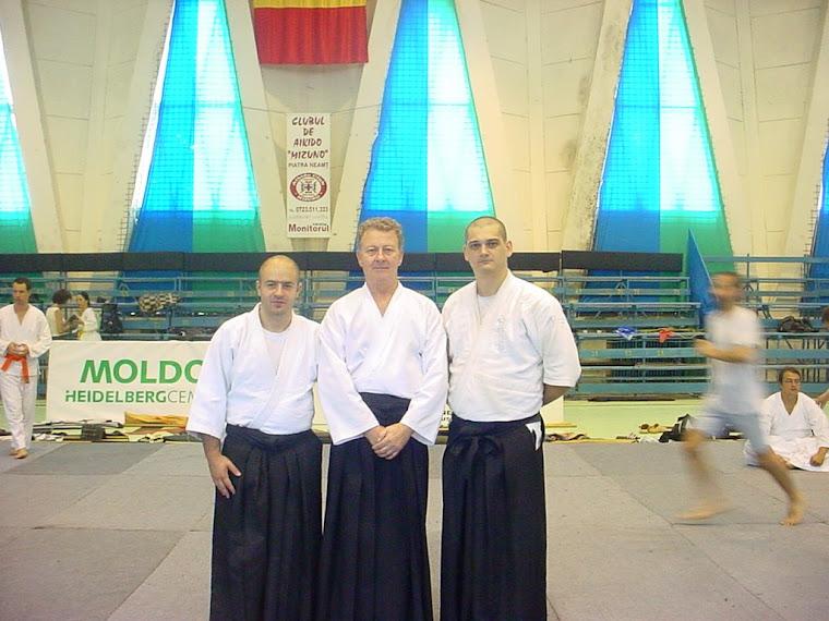 Piatra Neamț - împreună cu maestrul Dan Ionescu și Sorin Despa