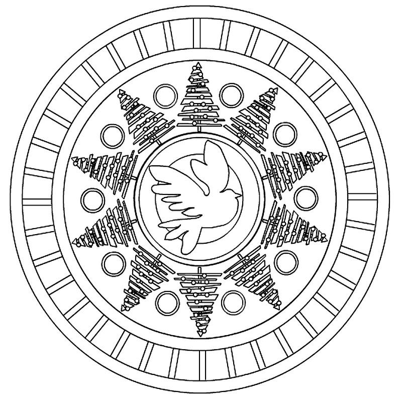 Mandala of the Lunar Quarter - 12-13-10 - First Quarter title=